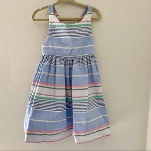 Ralph Lauren Oxford striped sundress w/bloomer